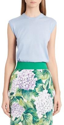 Women's Dolce&gabbana Cashmere & Silk Shell $675 thestylecure.com