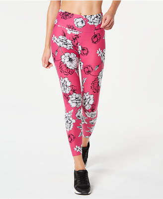 Calvin Klein Printed High-Rise 7/8 Leggings