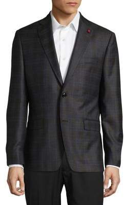 TailoRED Checkered Sportcoat