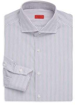 Isaia Classic-Fit Cotton Dress Shirt