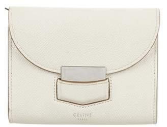 df9c5b518 Celine Trotteur Small Multifunction Wallet