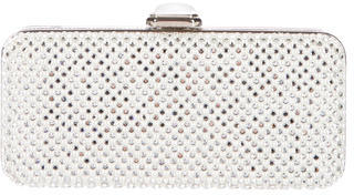 Judith Leiber Strass Crystal Embellished Minaudière $800 thestylecure.com