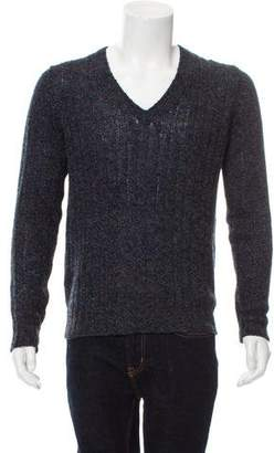 Prada Wool V-Neck Sweater