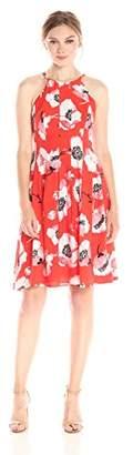 Adrianna Papell Women's Floral Summer Dress