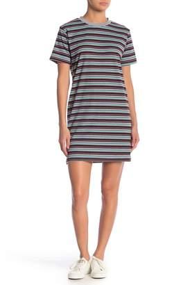 Cotton Emporium Multi Stripe T-Shirt Dress