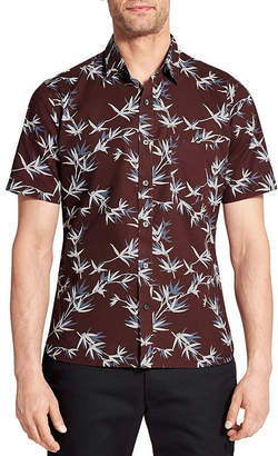 Van Heusen Short Sleeve Button-Front Shirt