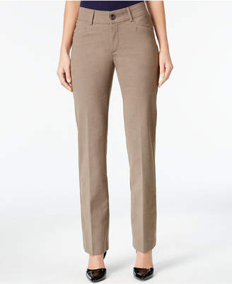 Lee Petite Madelyn Straight-Leg Trousers