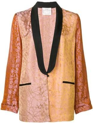 Forte Forte jacquard tuxedo blazer