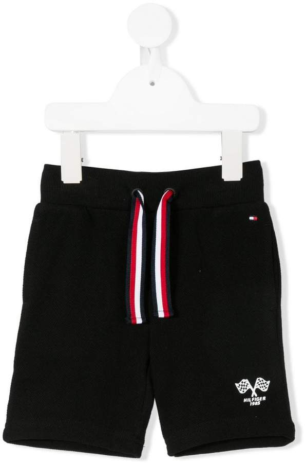 Tommy Hilfiger Junior drawstring waist shorts