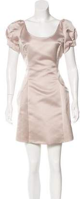Emporio Armani Satin Mini Dress