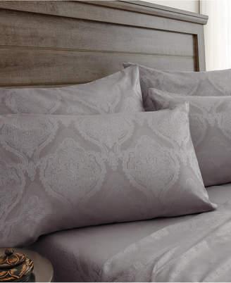 Elite Home Jacquard Damask 800 Thread Count 6-Pc. Full Sheet Set Bedding