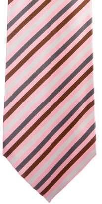 Stefano Ricci Striped Silk Tie