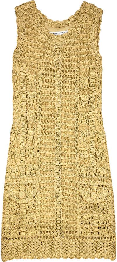 Diane von Furstenberg Zacharie crochet dress