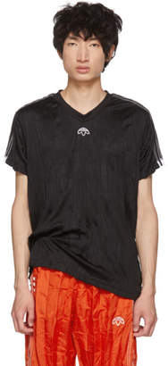 adidas by Alexander Wang Black Regular Soccer Jersey T-Shirt