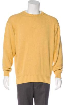 Loro Piana Crew Neck Sweater yellow Crew Neck Sweater