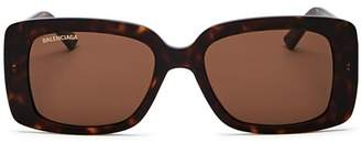 Balenciaga Women's Square Sunglasses, 52mm
