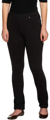 Susan Graver French Knit Jeggings with Tonal Stitching Regular