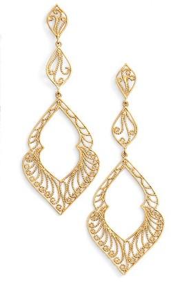 Women's Argento Vivo Marquee Drop Earrings $78 thestylecure.com