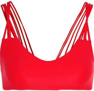 Mikoh Madrid Bikini Top - Red