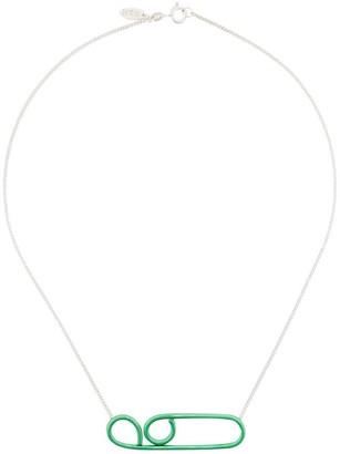 Wouters & Hendrix Technofossils e-coated necklace