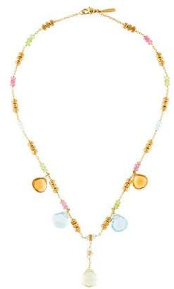 Marco Bicego 18K Multistone Paradise Collar Necklace