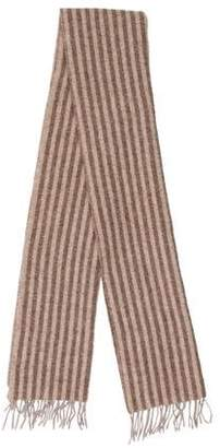 Barneys New York Barney's New York Striped Wool Scarf