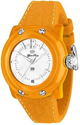Glam Rock Women's 'Miss Miami Beach' Swiss Quartz Plastic and Silicone Casual Watch