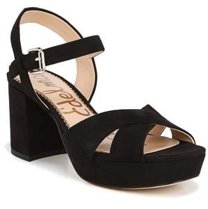 c110bf88b Sam Edelman Black Platform Women s Sandals - ShopStyle