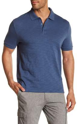 Vince Slub Cotton Polo Shirt