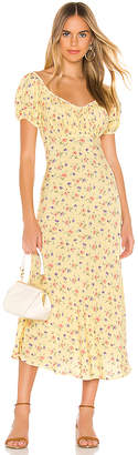 AUGUSTE Eloise Penn Midi Dress