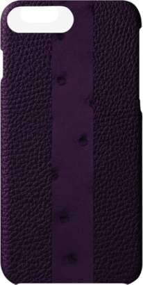 MAiSON TAKUYA Ostrich Stripe iPhone 7 Plus Case