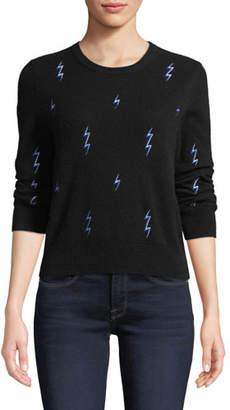 Equipment Shirley Lightning-Bolt Cashmere Sweater