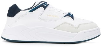 Lacoste Court Slam panelled sneakers