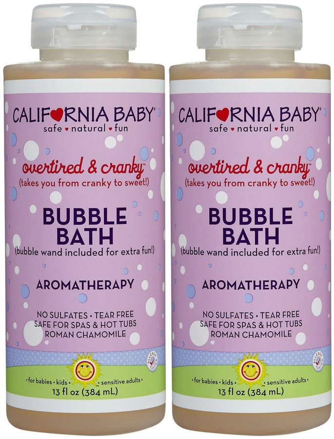 California Baby Bubble Bath - Overtired and Cranky - 13 oz - 2 pk