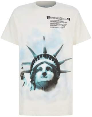 Off-White Liberty Print T-Shirt