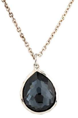 Ippolita Quartz & Hematite Doublet Rock Candy Pendant Necklace