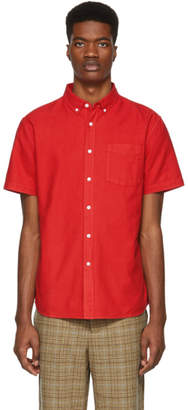 Saturdays NYC Red Oxford Esquina Shirt