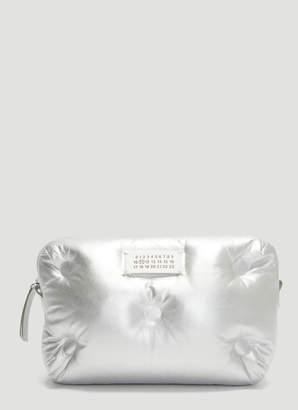 Maison Margiela Glam Slam Camera Bag in Silver