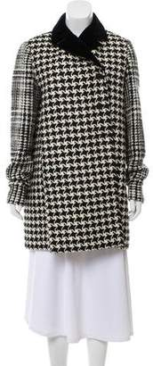 Christian Dior Wool Gingham Coat