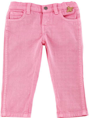 Gucci Cotton-Stretch Tapered Pants, Size 12-36 Months