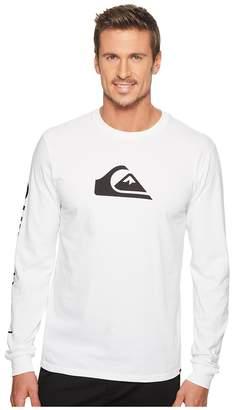 Quiksilver MW Logo Long Sleeve Tee Men's T Shirt