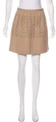 Tracy Reese Cutout Mini Skirt