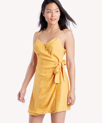 Moon River Women's Sleeveless Dress In Color: Tangerine Size XS From Sole Society