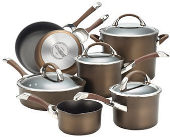 Circulon Circulon Symmetry Hard-Anodized Nonstick 11-Piece Cookware Set
