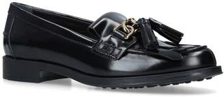 Tod's Gomma Ru Frangia Loafers