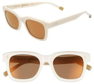 Raen Gilman 52mm Mirrored Polarized Sunglasses
