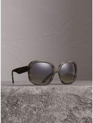 Burberry Square Frame Sunglasses, Grey