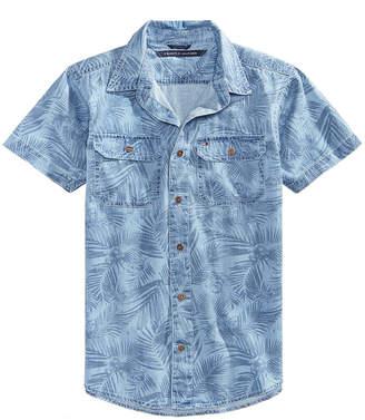 Tommy Hilfiger Mace Cotton Denim Shirt, Toddler Boys