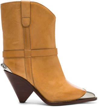Isabel Marant Leather Lamsy Boots