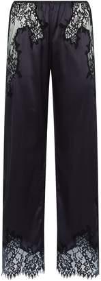 Marjolaine Silk Lace Pyjama Trousers